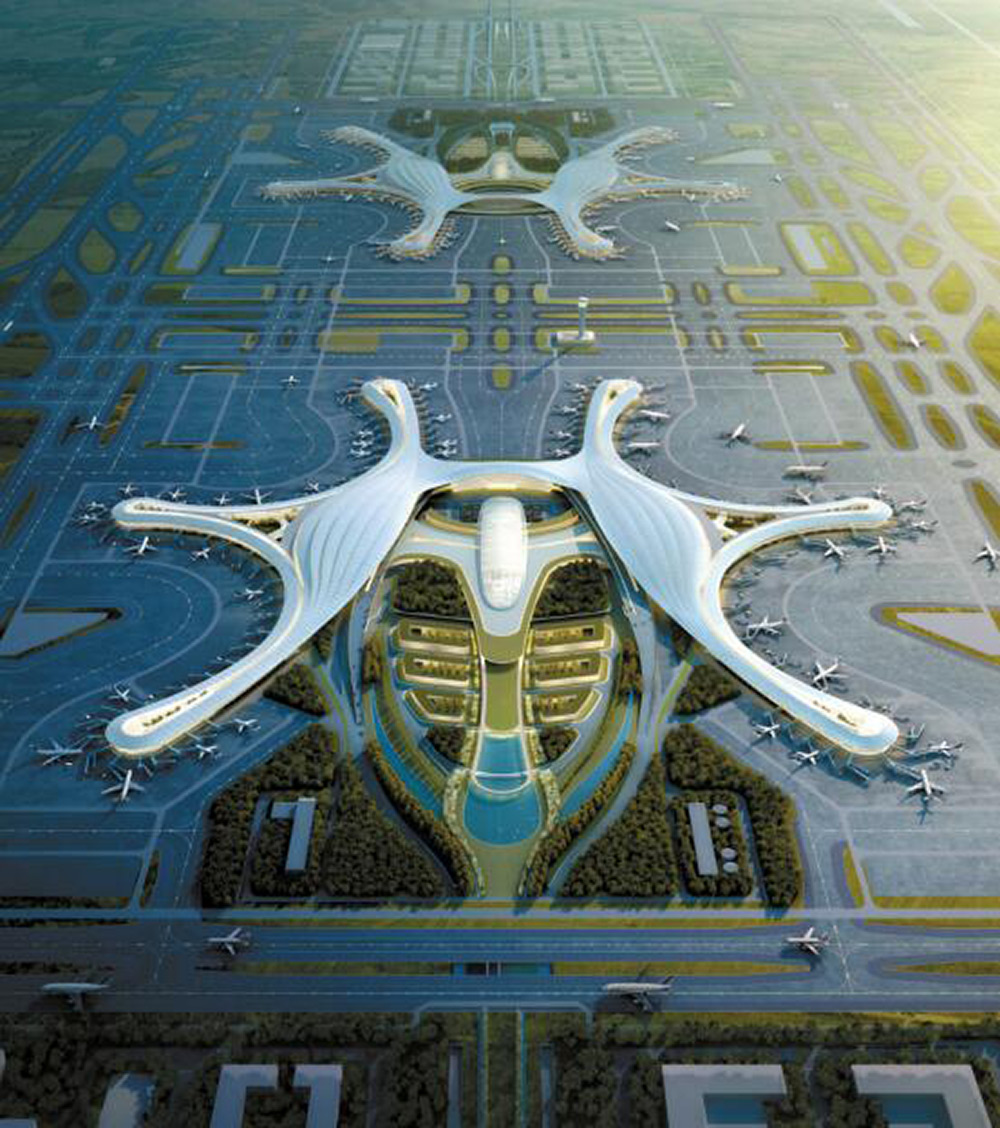 成都天府国际机场航站楼